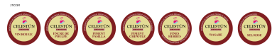 Etiqueta Celestun OK-03