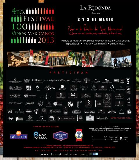 100 vinos mexicanos 2013