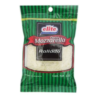 mozzarella elite rallado