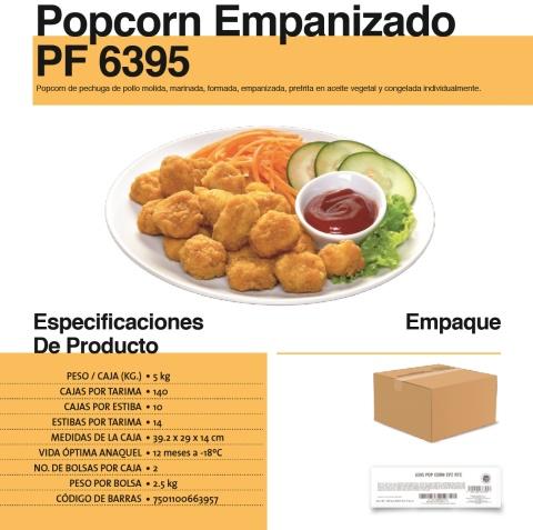 6395 popcorn empanizado