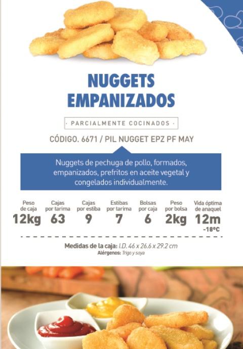 6671 nugget premium empanizado